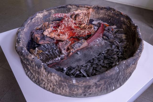 KFA2019 - Sterling Ruby - Locatie: Archeologisch Museum - Foto Wietse Jongsma
